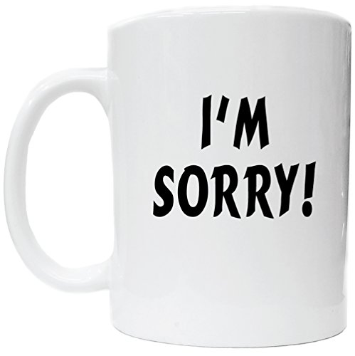I'm Sorry Apology Gift Coffee Cup